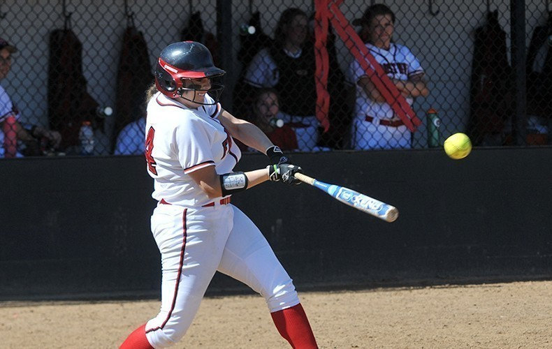 Aubel hit the game-winning homerun to beat Mary Washington 3-2. (FSU Athletics)