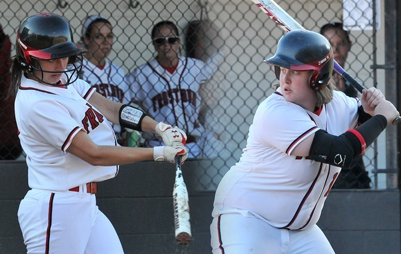 Lauren Capece (left) and Lovend) have been key contributors for the softball team (FSU Athletics).