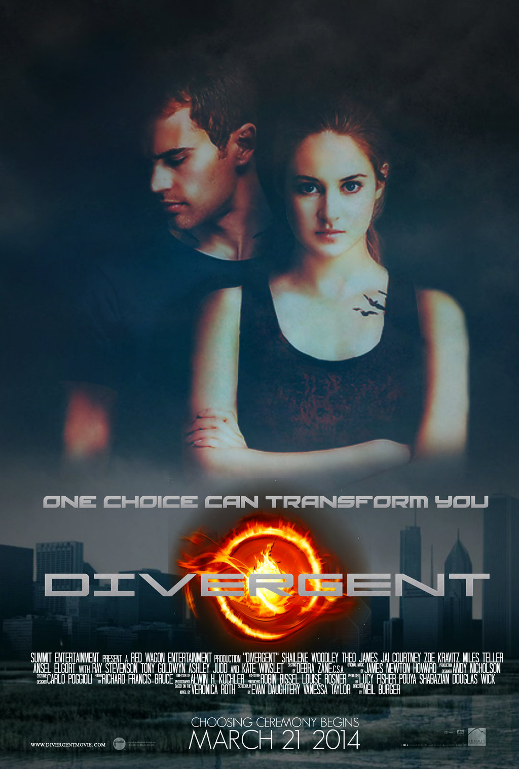 """Divergent"" is the first in a trilogy. It is followed by ""Insurgent"" and ""Allegiance,"" which are scheduled to be adapted, with tentative releases in 2015 and 2016. (Photo by Summit Entertainment)"