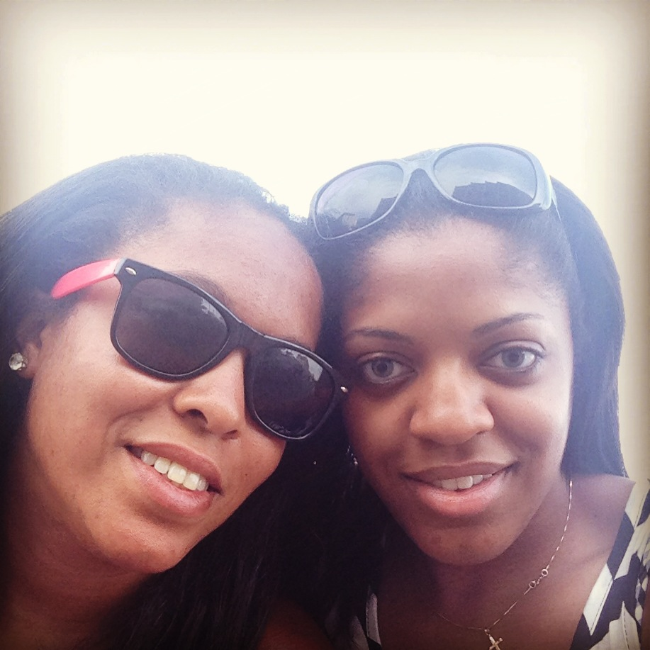 Sisters Nicole Carter (left) and Whitney Carter (right) (Nicole Carter/FSU Student)