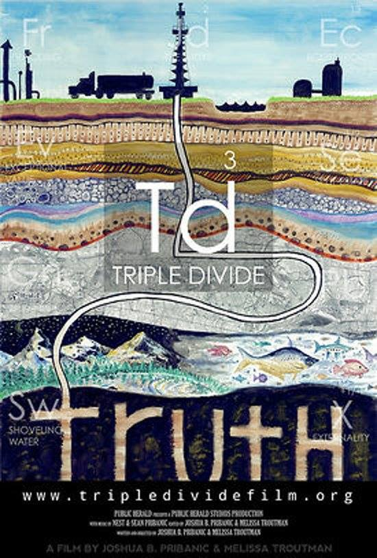 triple divide film poster