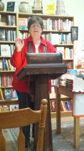 Jeanne Bryner reading from Bottom Dog Press.