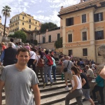 Me at the Spanish Steps. (Nick DeMichele)
