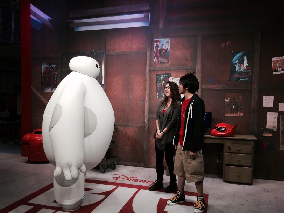 taylor and hiro meet baymax