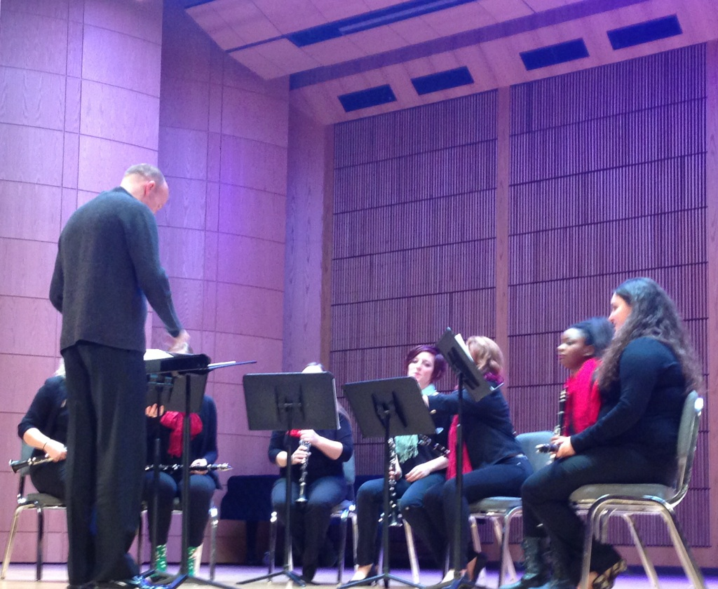 Clarinet Ensemble performance