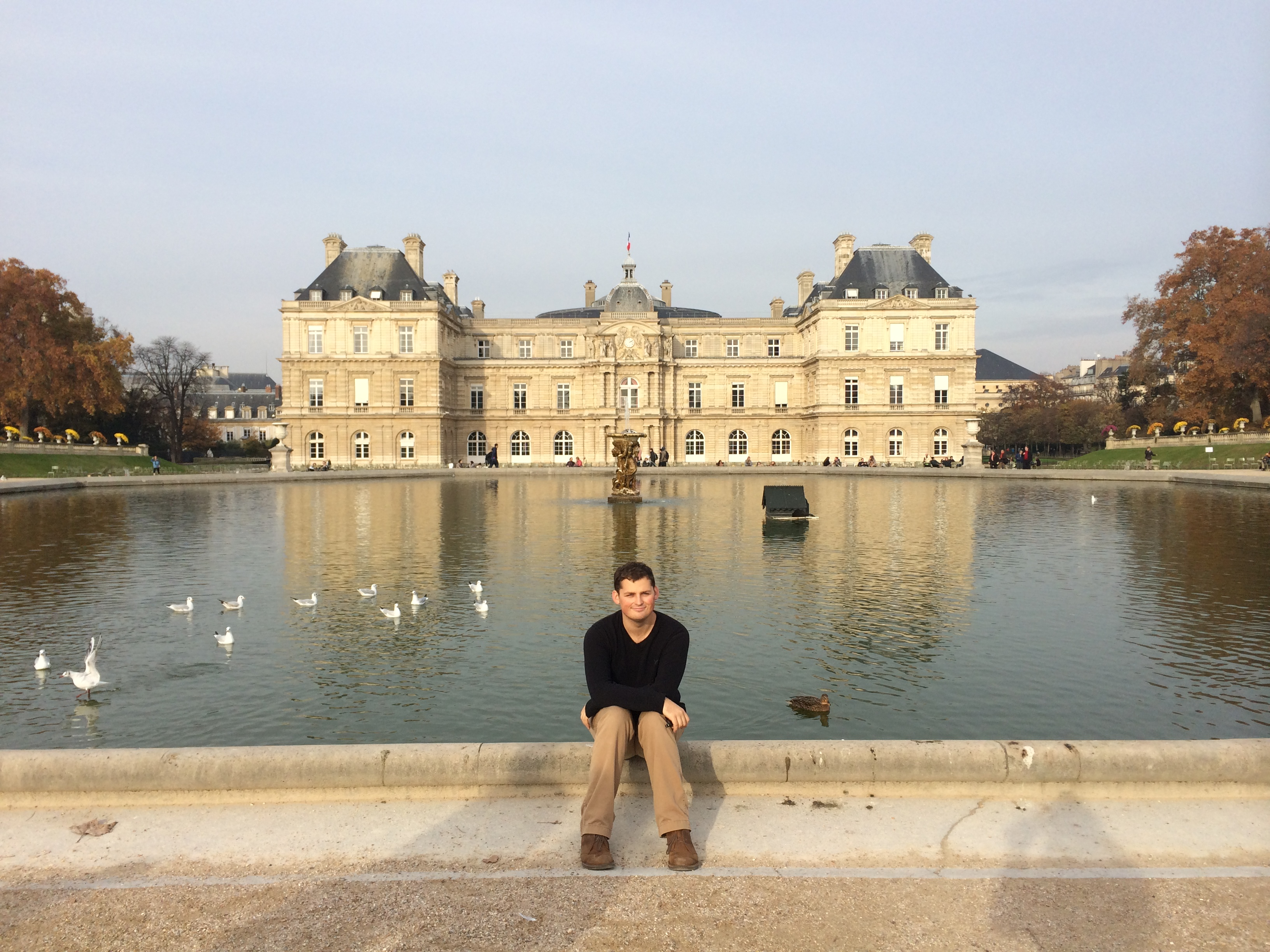 Me at the Luxembourg Palace (featured image)