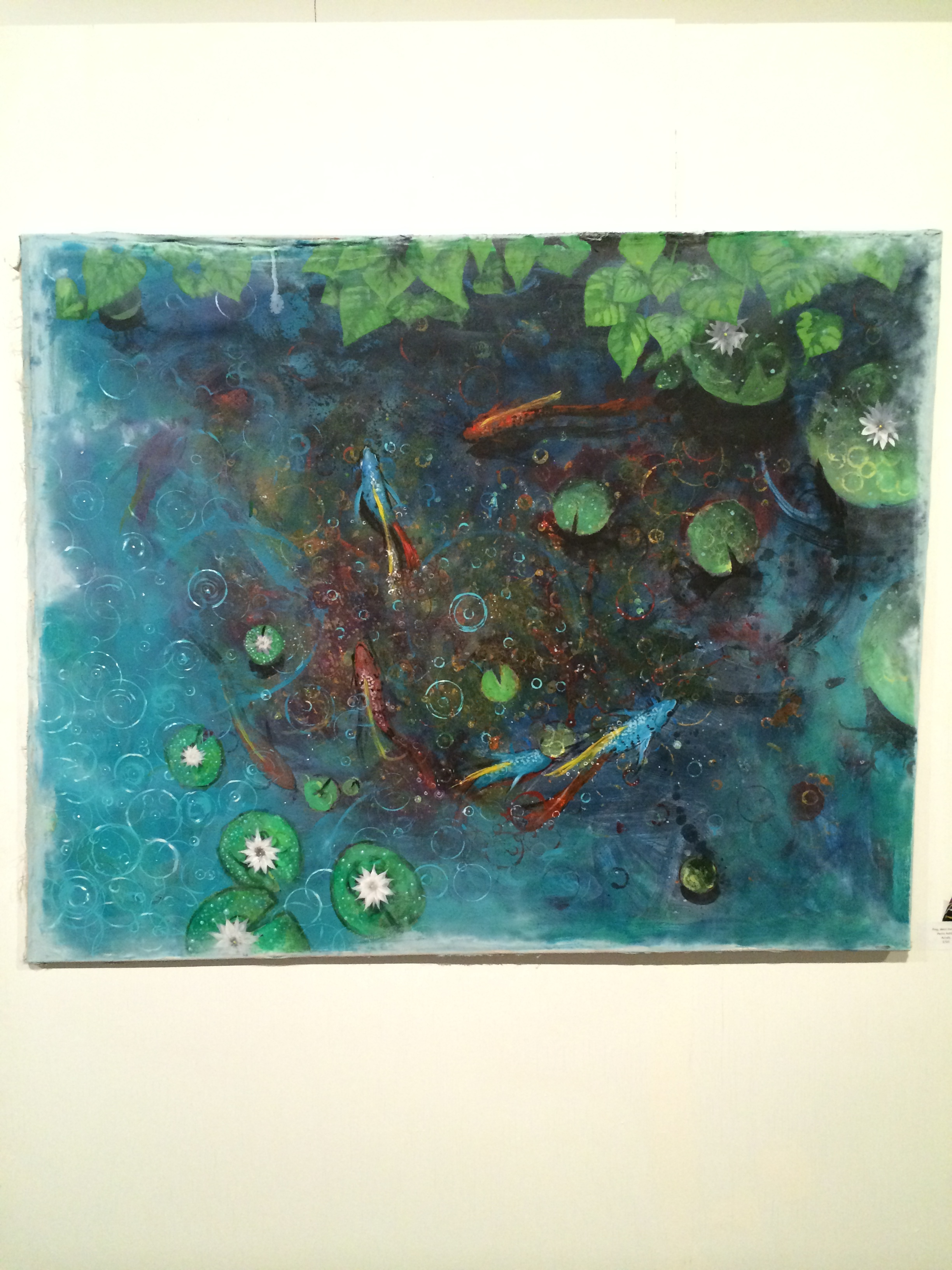"""""""Ping, Went the Pond"""" by Parris Ashley"""