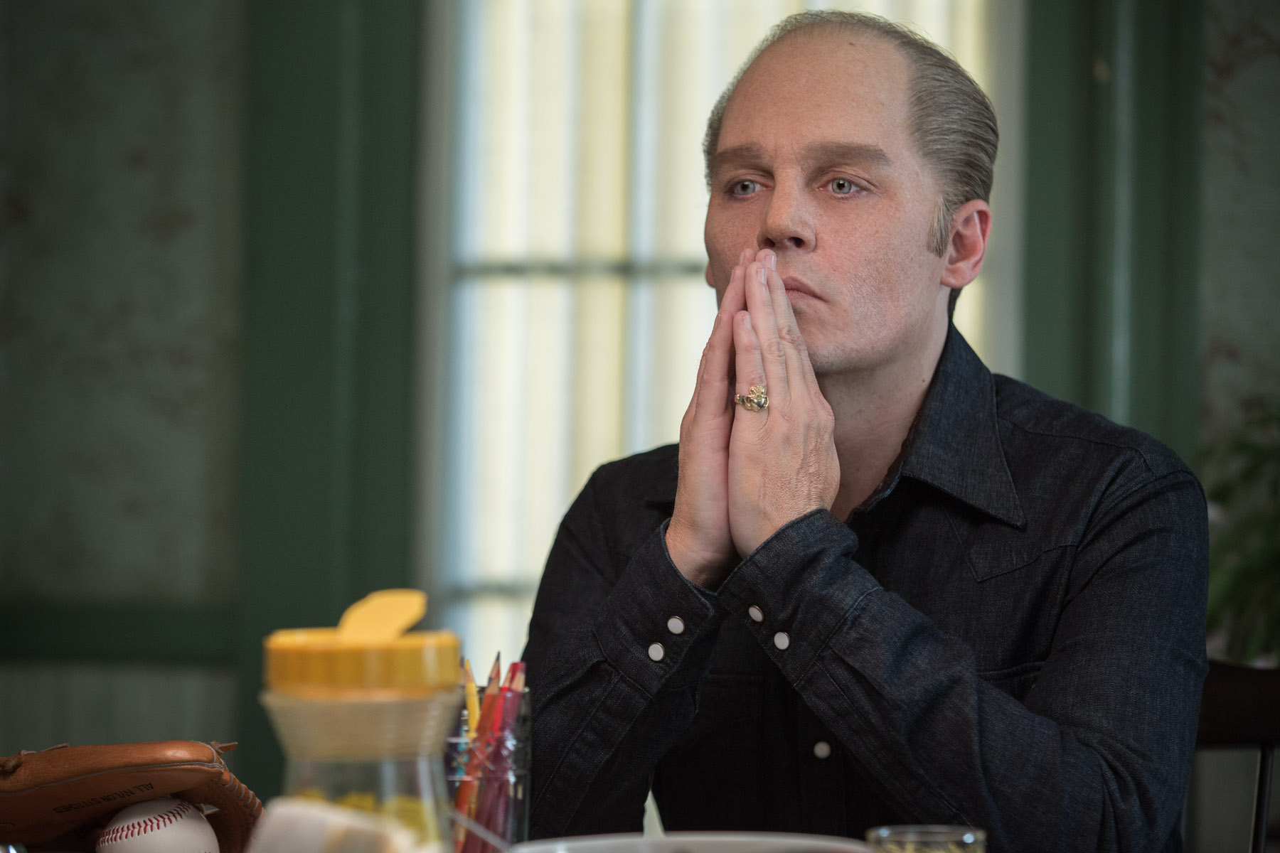 Johnny Depp as Whitey Bulger in the film Black Mass. (Forbes.com)
