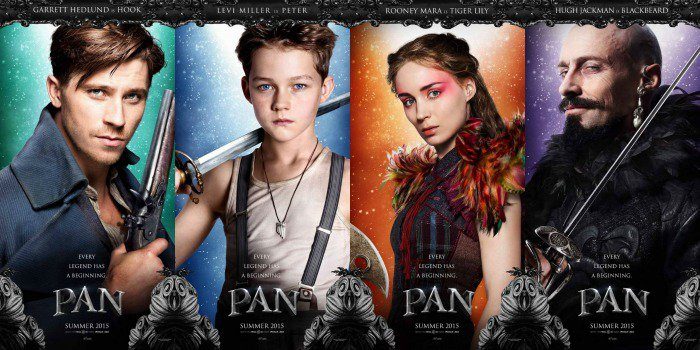 "Lead characters in ""Pan"". (dailymotion.com)"