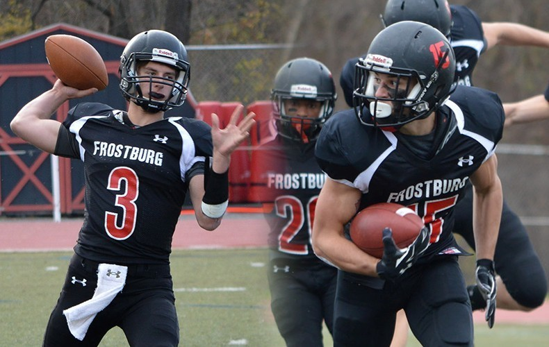 Photo taken from Frostburg State University's sports website