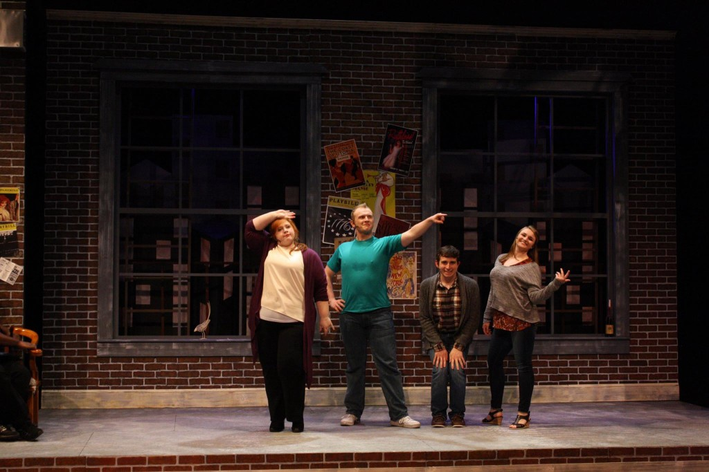 Alex Hemphill, Josh Mooney, Matthan Potts, and Maddie Bohrer as Susan, Hunter, Jeff, and Heidi in <h3 class='vw-title-shortcode'><span></span></h3>
