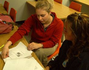 To make an appointment with a tutor or PAL, students need only visit TutorTrac at the Tutoring Center's website:http://www.frostburg.edu/admin/provost/academic-success-network/tutor/. (Photo Credit: Tutoring Center)