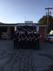 Back row, left to right: Victoria Synder; Mike Moratti; Brian Long. Front Low, left to right: Landos Wallace, Jr.; Bre Lyons; Lydia Dickmyer; Roger Willcox; Sam Lohff; Brett Weikort.
