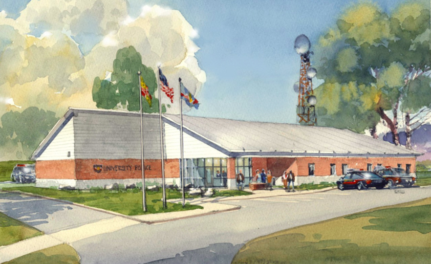 An artist's rendition of how the building will appear upon completion.