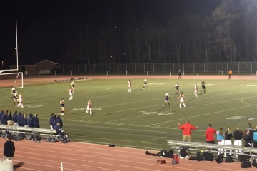 The FSU women's soccer team defeated St. Mary's College in CAC playoff action (TBL/James Kirk).