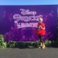 Leighty stops for a photo to show off her 2017 Disney Princess Half Marathon medal. (TBL/Nicole Leighty)