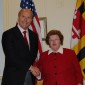 Rep. Delaney, (left) pictured with former U.S. Senator Barbara Mikulski. (Flickr/Edward Kimmel).