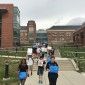 Bobcats march for science through campus to support scientific research. (TBL/Nicole Leighty)