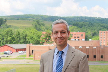 Frostburg State University Geography Professor Dr. Richard Russo. (FSU News & Media Services)
