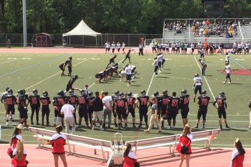 The Frostburg State Bobcats football team defeated TCNJ 4914 in conference action. (TBL/Harry Lichtman).