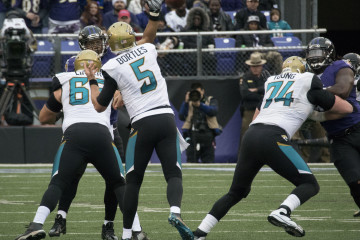 Blake Bortles and the Jags are off to a surprisingly fast start. (Keith Allison/Flickr).
