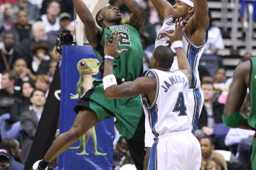Tony Allen during his time with the Boston Celtics (Keith Allison/Flickr)