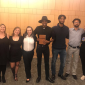 In order from left to right: Emily Wood, Nicole Sprucebank, Elena Manco, Morgaine Ferneyhough, Jamal F., Charlie Owens, Mekhi Jones, and Maddie Fick