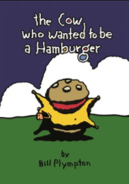Kanopy cover photo for The Cow Who Wanted to Be a Hamburger (2010).