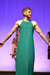 """Joe Nader being announced as the winner of, """"Miss DZirable"""". Photo by: Catherine Kim."""