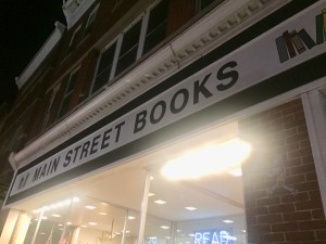 The Main Street Books storefront.