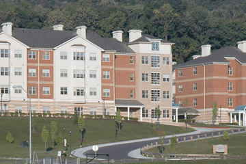 Edgewood Commons, which houses 402 residents according to FSU's Residence Life website | photo: FSU